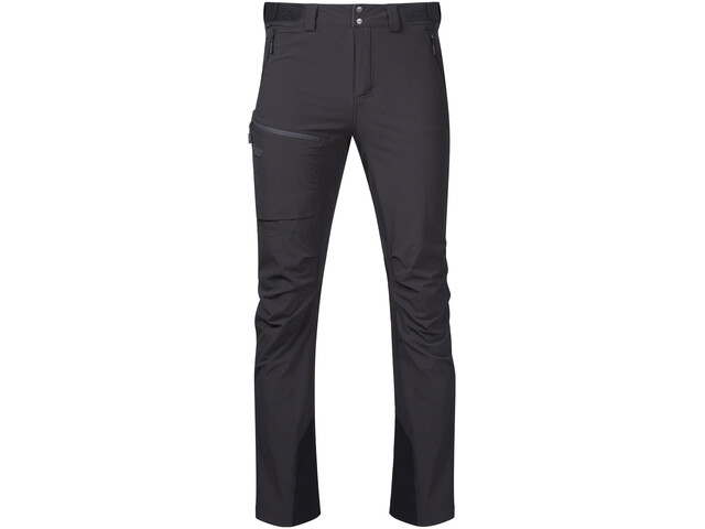 Bergans Breheimen Softshell Pants Herr solid charcoal/solid dark grey